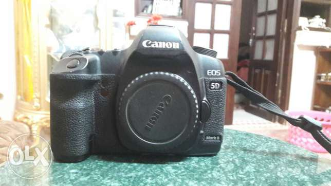 5D mark II with card compact 32