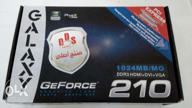كارت vga nvidia geforce 210 1 gb