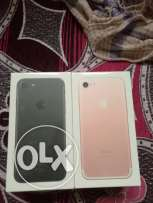 IPhone 7 32gb black and rose gold