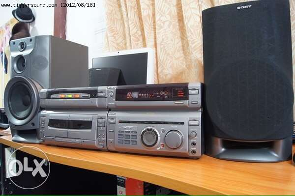 sony hi-fi MHC-W55 Japan
