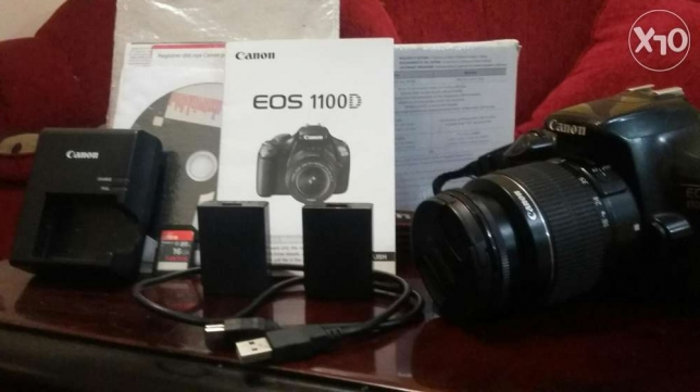 Canon 1100d with box and 18-55