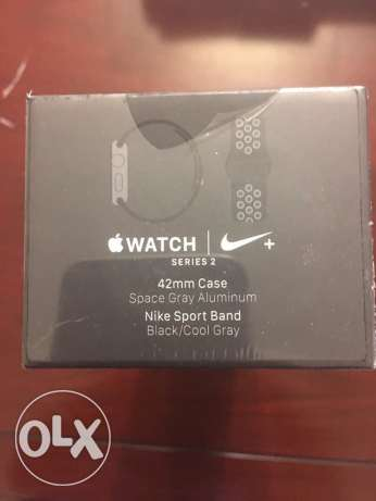 Apple Watch Series 2 Nike Black / Cool Gray