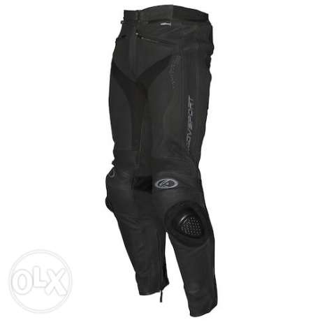 AGV new leather sport pants for race bikes.