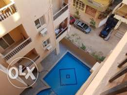 Flat in El-Kauser. Compound with swimming pool