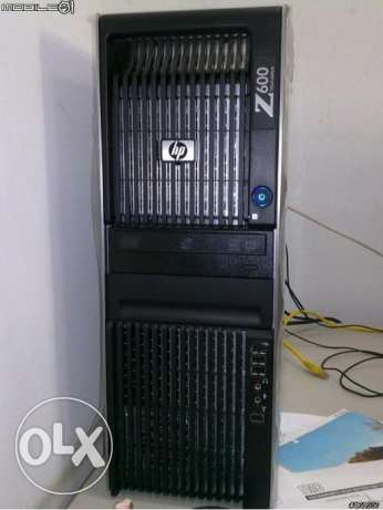 للجرافيك العالي//hp workstation xeon x5650ب2برسيسور =cash24m +ram24g