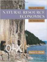 Natural Resource Economics: An Introduction Edition