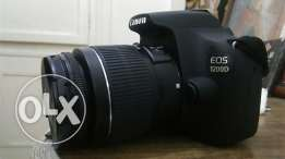 Canon 1200d with kit lens 18-55