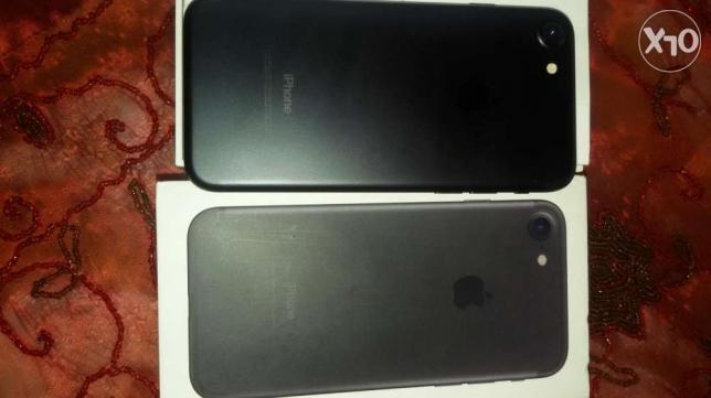 Iphone7 jet black القاهره -  3