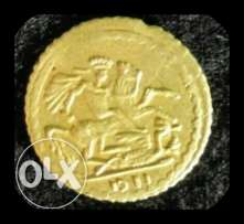 Original British gold coin