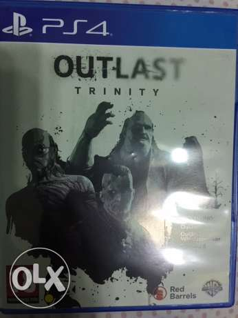 outlast 2 trinity 1 & 1 dlc & 2 ps4 playstation 4 2 cds
