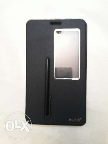 Huawei Mediapad X2 smart cover with sensor , pen and screen protector