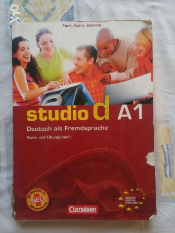 Studio d A1 German course book, price could be reduced