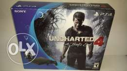 "Playstation 4 slim 500 gb + uncharted 4 ""ps4 slim"""