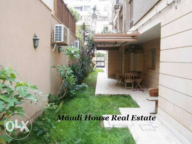 Ground Floor 280m in Maadi Saray