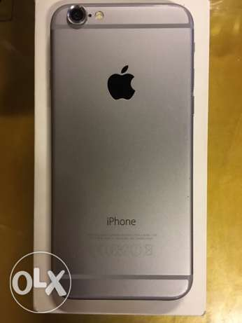 iPhone 6 Space Gray 16 Giga Used