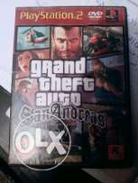 GTA San Andreas ps2 for Exchange with ps3 للجاديين