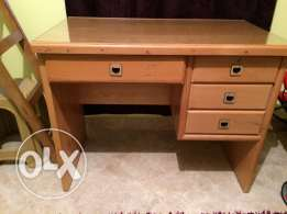 two wooden desks , final price 650 for each