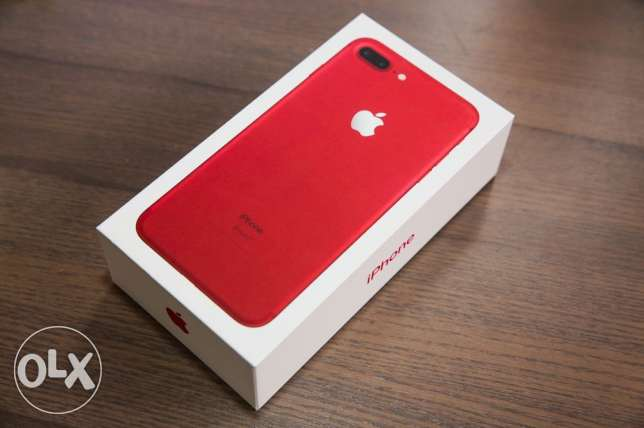 iphone 7plus RED 128gb