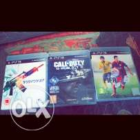 (Ps3) (Fifa 15 + call of duty ghosts + body count)