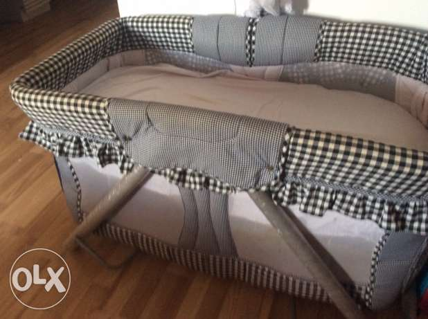 baby bed in a very good condition
