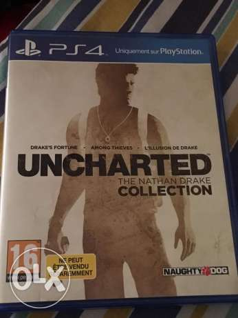Uncharted Nathan Drake Collection for sale انشارتد 1و2و3 للبيع