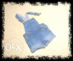 Salopette jeans 1-2 years
