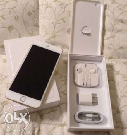 Iphone 6 15GB silver with box and all original acc