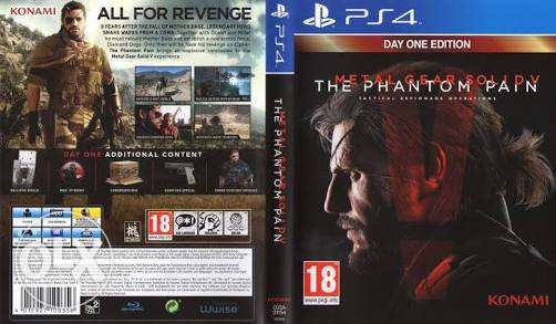 Metal gear phantom pain ps4 cd