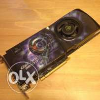 كارت شاشه : XFX nVidia GeForce 9800GTX 512 mb DDR3