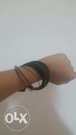 black bracelets new H&M