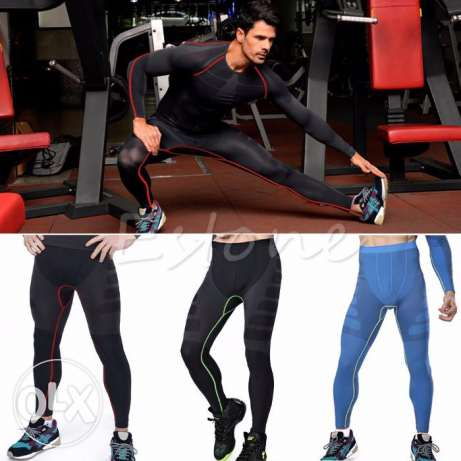 Men Compression Pants Base Layer Skin Tights