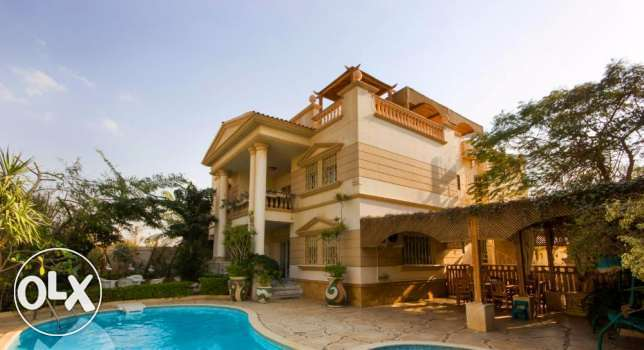 Villa 450m with Fully Finished in Royal City Compound - Sheikh Zayed