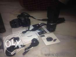 Sony Alpha SLT A-58Y with 18-55mm + 55- 200mm Lens