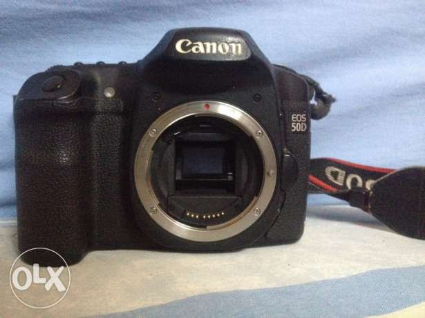 Canon 50D with 2 Lens 28-135 + 28-105