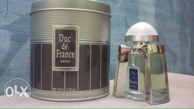 DUC DE FRANCE For Men 100 ml Green - blue - silver عين شمس -  2