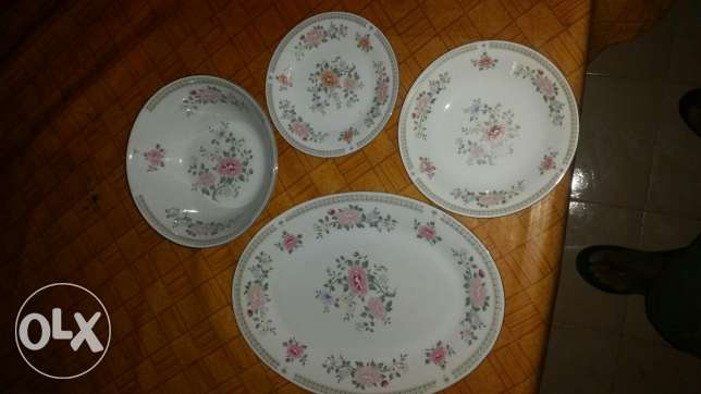Dinner serving set china inported 35 pces.