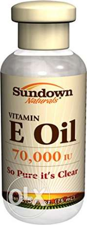 E oil (Sundown NaturalsPure Vitamin E-Oil 70000 IU, 2.5 Ounces) مصر الجديدة -  1