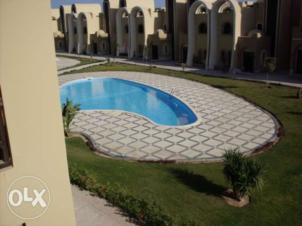 Sahl Hashish. Studio for rent in compound with own beach. 2500 LE الغردقة -  1