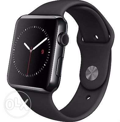 Apple Watch 42mm Black Stainless Steel Case