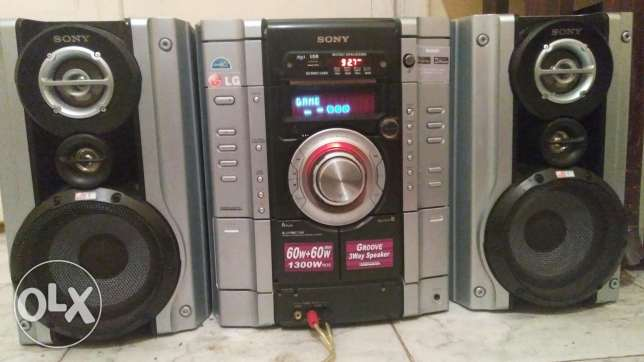 Hi Fi SONY (aux & USB & bloutoth & radio ) its all vere good workeng