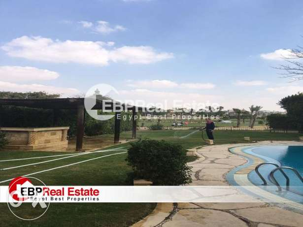 villa for sale first row on Golf at mirage City with prime location
