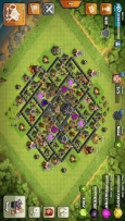 Clash of clan coc townhall 9