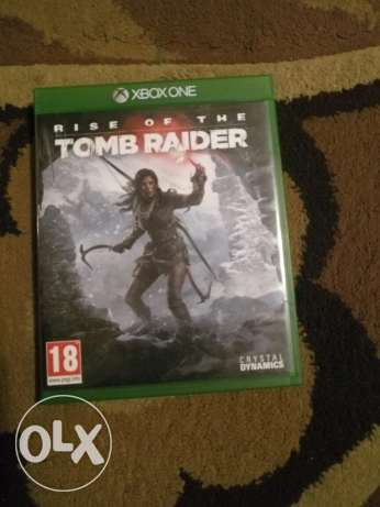 Rise of the tomb rider. Xbox one