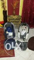 brand new baby relax and babideal car seat