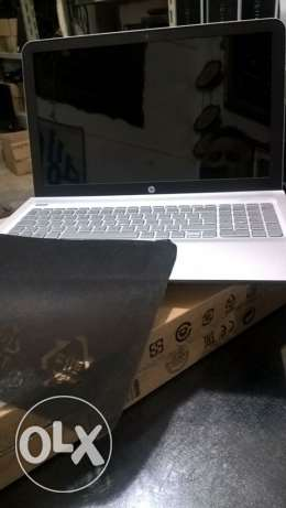 Hp envy notebook 1جديد بالكرتونه