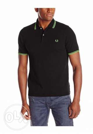 Fred Perry Men's Neon Twin Tipped Polo Shirt