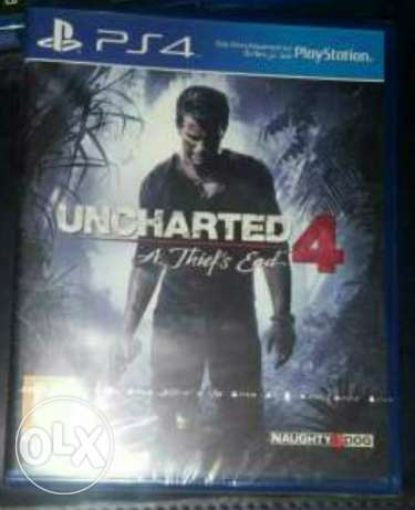 Uncharted 4 ps4 for sale or trade مدينة نصر -  1