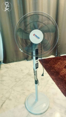 Fan with remote. As a new