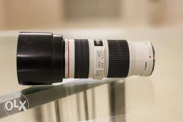 Canon 70-200 is usm f4