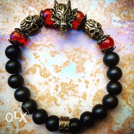 Powerful Wolf Bracelet
